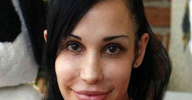 Octomom gets social services visit after complaint