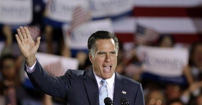 Romney sweeps 5 wins, promises 'better America'