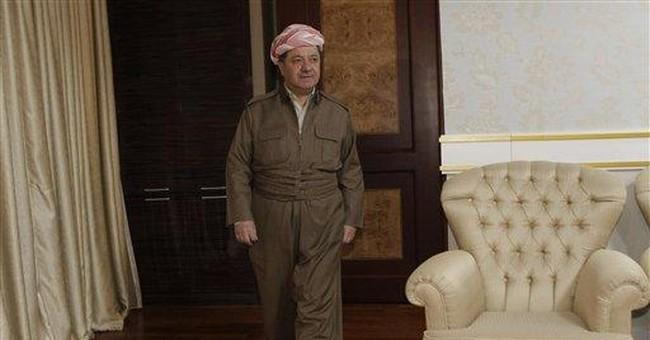 AP Interview: Iraqi Kurd leader hints at secession