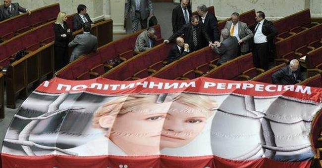 Ukraine urged to treat jailed ex-PM refusing food