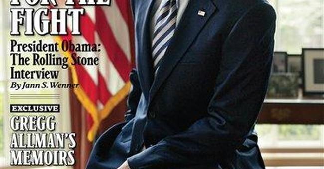 Obama's Rolling Stone treatment -- politics to pop