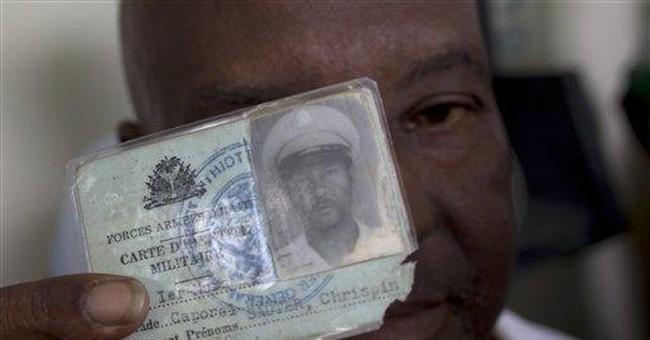 Haiti gov't begins back pay plan to veterans