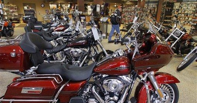 Harley-Davidson 1Q profit revs up as sales jump