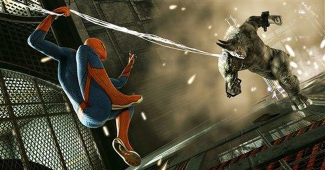 Spidey foes to rattle 'Amazing Spider-Man' game