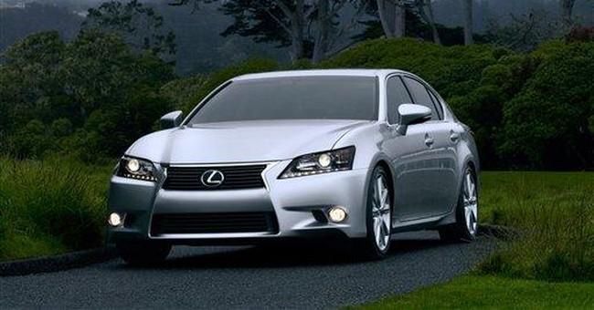 Lexus GS gets F Sport treatment