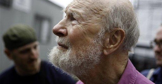 Folk legend Pete Seeger honored by arts academy