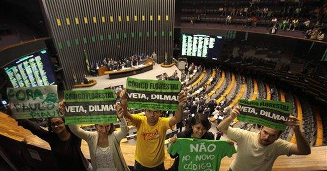 Brazil's Congress approves changes to enviro law