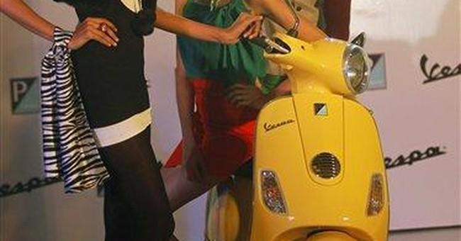 Piaggio launches Vespa in India
