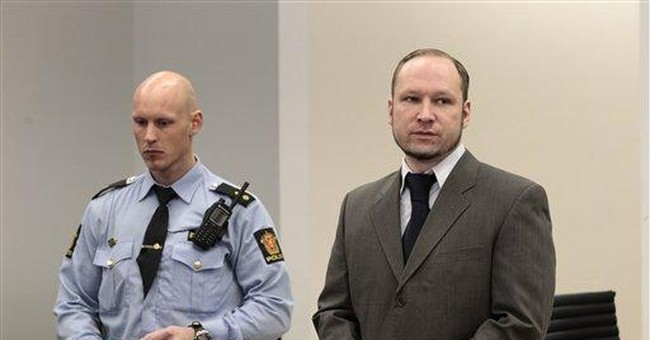 Experts: Mass killer Breivik likely not insane