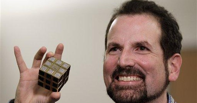 Cubism? Rubik helps with toy's anniversary exhibit