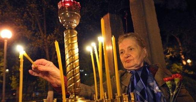 Ukraine marks 26th anniversary of Chernobyl