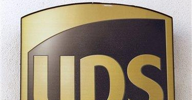 UPS 1Q profit up, but international business slows