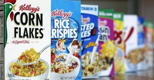 Kellogg 1Q profit drops 2 percent as costs rise