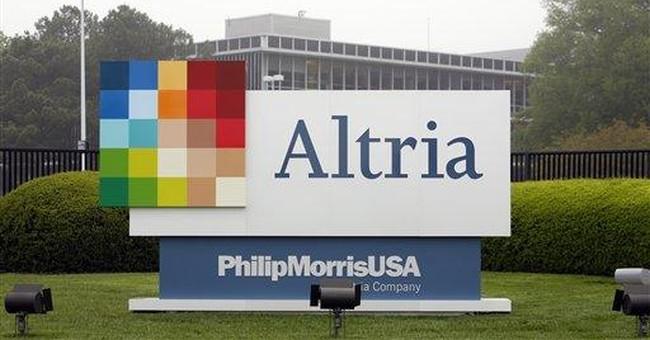 Marlboro maker Altria 1Q profit up nearly 4 pct
