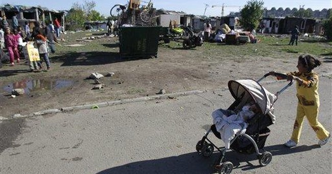 Gypsies evicted from Serbian capital
