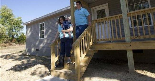 Ala. tornado survivors now have new baby, home