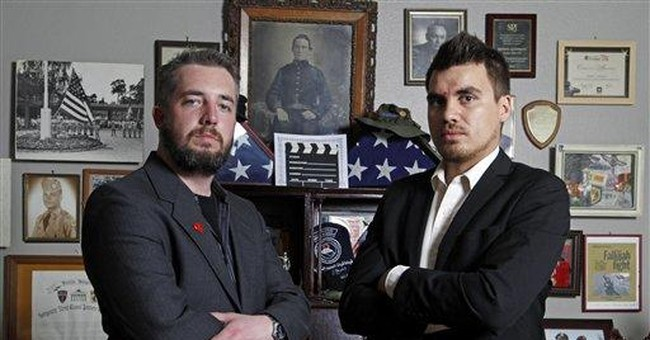 Ex-Marine aims camera at self to heal from the war