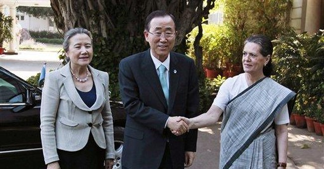 UN chief, Indian leaders discuss security issues