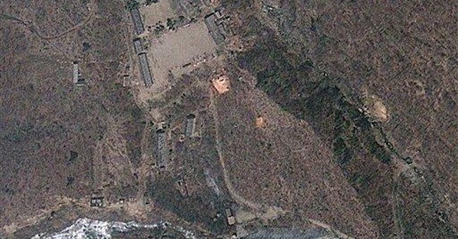 New photo shows work at NKorea nuclear test site