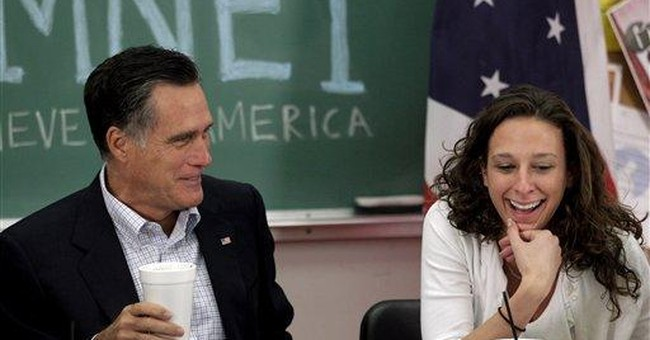 Romney urges young people to take economic risks