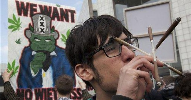 Dutch ban takes aim at foreigners buying pot