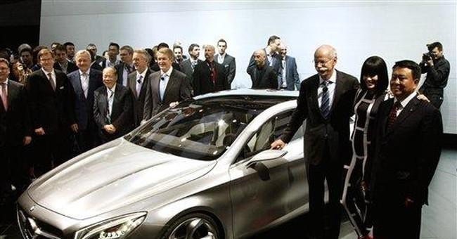 Daimler Q1 net rises 20 percent, Mercedes slips