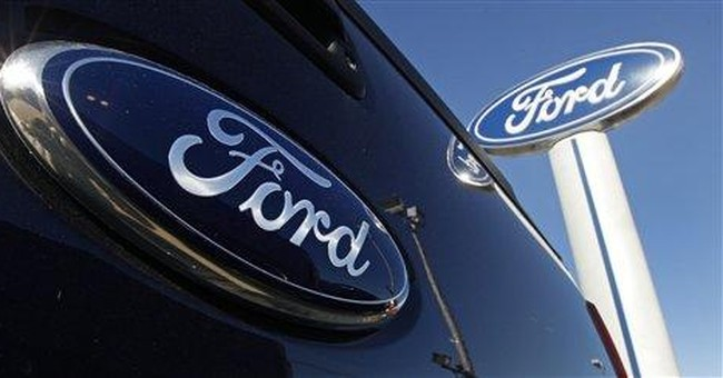 Ford 1Q earns fall on Europe slump, tax rate