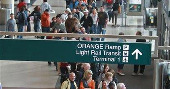Minn. air passenger: Water filtration pipes in bag