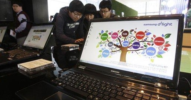 Smartphones fuel Samsung profit to record