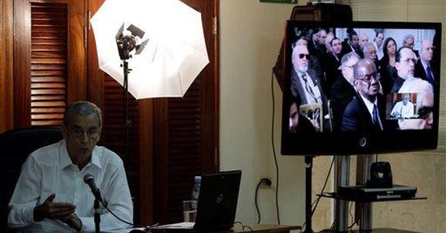 Cuban officials, exiles dialogue via video