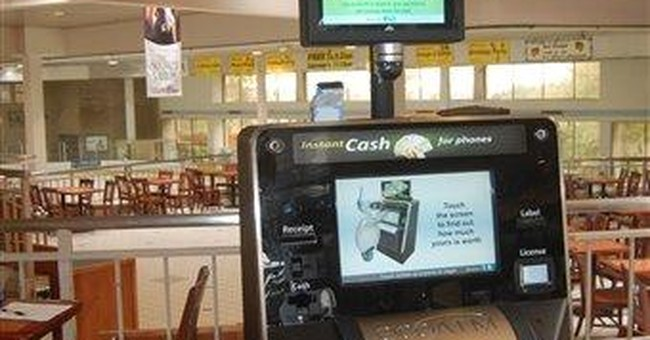Gadget Watch: ATM turns your old phone into cash