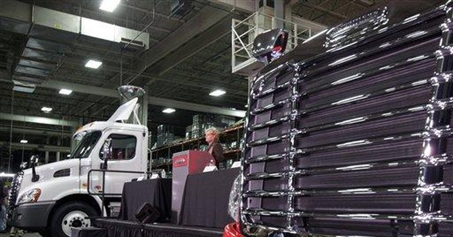 Daimler truck plant to add 1,100 jobs in US