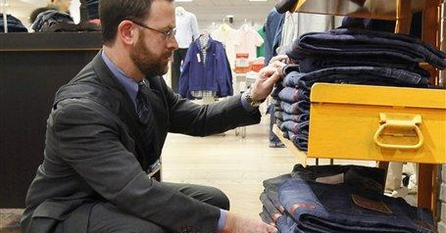 Retail sales inched up in Dec., ending record year