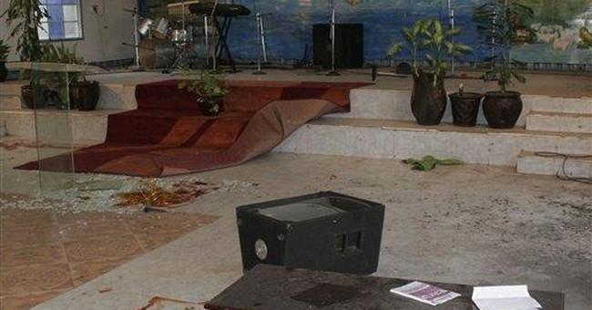 Kenya official: Grenade kills 1 in church attack