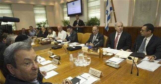 Former Israeli premier against Iran strike