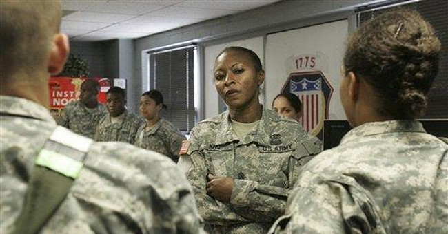 APNewsBreak: Female drill sgt boss fights removal
