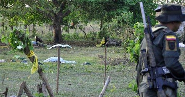 Colombia: 13 killed in military helicopter crash