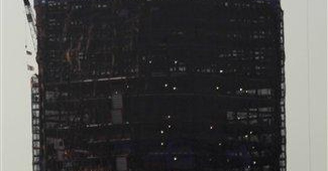 Time-lapse AP video shows Trade Center's rise