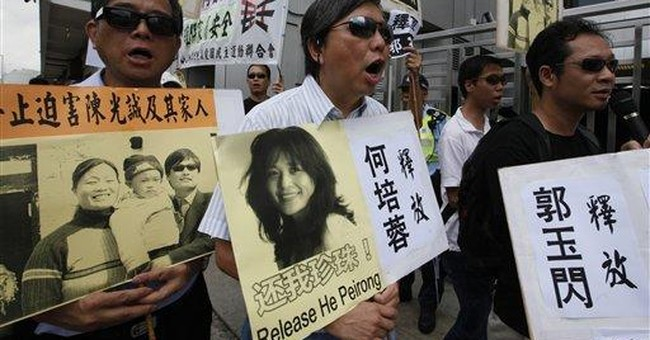 Rights group: US asylum likely for China dissident