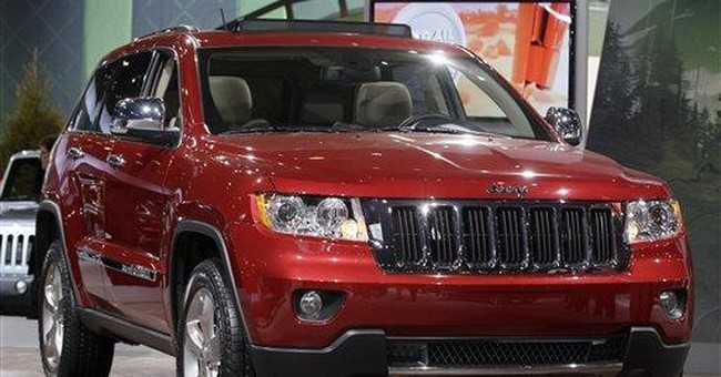 Strong Grand Cherokee sales keep factory humming