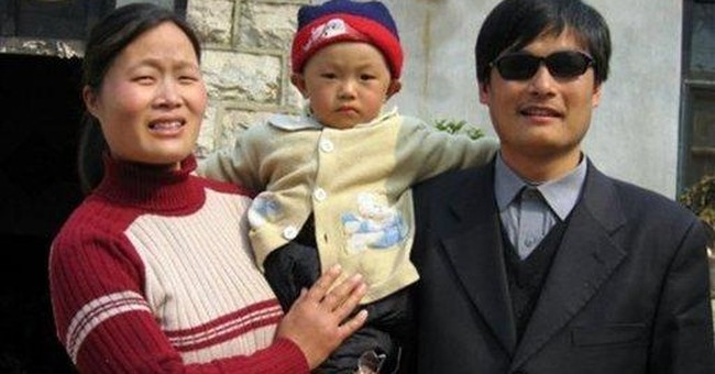 Running blind: Chinese activist's dramatic escape