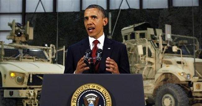 Obama marks bin Laden's death with Afghan trip