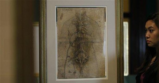 Leonardo's anatomical studies to go on show in UK