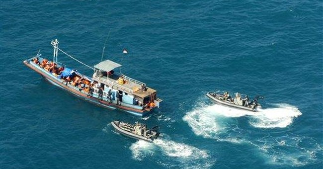 Far-flung New Zealand sees risk from boat refugees