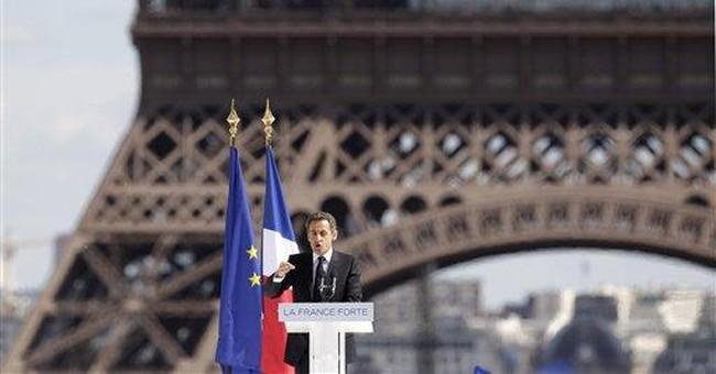 Gadhafi ally in exile in France, Sarkozy says