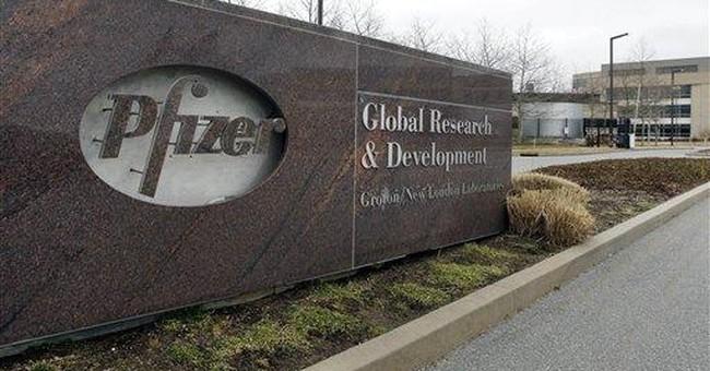 Charges, generic Lipitor cut Pfizer 1Q net 19 pct