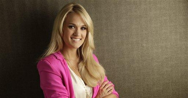 Carrie Underwood learns from imperfect moments