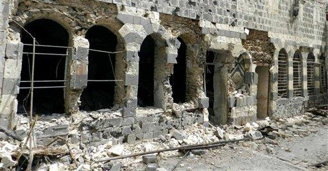 Syria's cultural treasures latest uprising victim