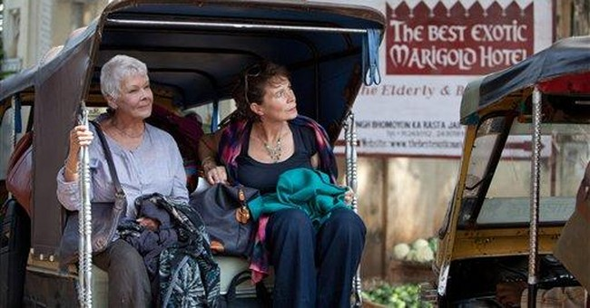 Review: `Marigold Hotel' offers safe escape