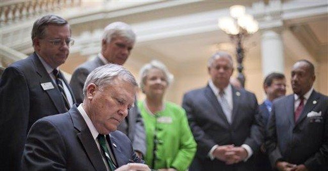 Gov. Deal signs criminal justice system overhaul
